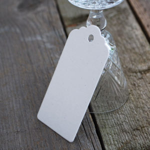 Gift Tags, in packs of 10 or 30 made out of 100% recycled card